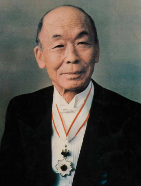Kunito Miyasaka, primeiro presidente do Arujá Golf Clube